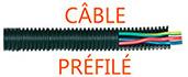 Cables prefiles