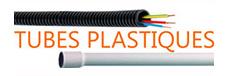 Logo tube plastique